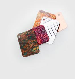 Metal Color Samples