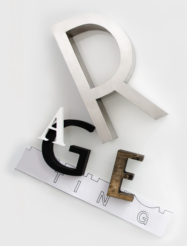 Dimensional Letters