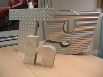 Metal laminates applied to light weight foam
