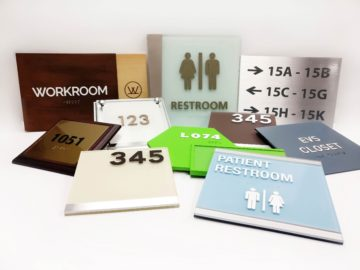 Poly offers all types of ADA Signage to fit your needs
