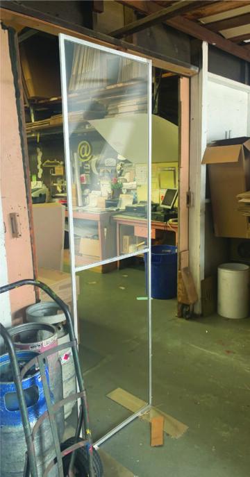 Lightweight Aluminum floor stands – All Made to order
